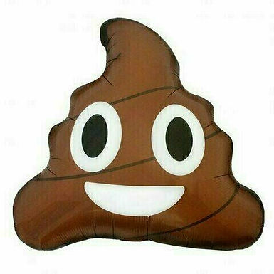 "Juniorshape-Ballon ""Poop"""