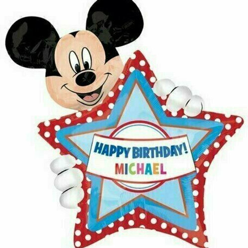 "Personalisierbarer XXL-Ballon ""Mickey Mouse"""
