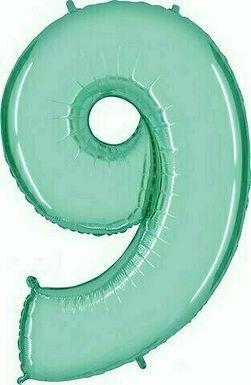 """Riesenzahl """"9"""" - mint"""