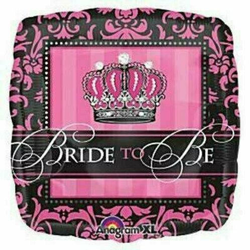 """Folien-Ballon """"Bride to be"""""""