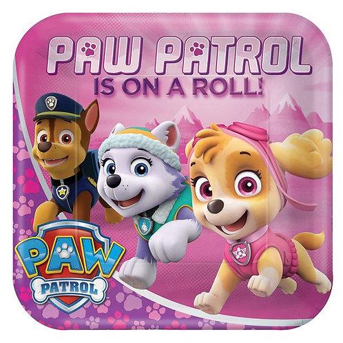 Paw Patrol Teller, rosa