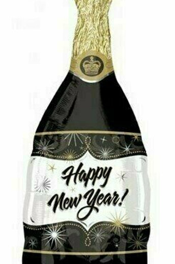 "XXL-Ballon Happy New Year ""Sektflasche"""