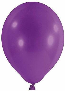 20 Latex-Ballons, Standardfarbe: violett