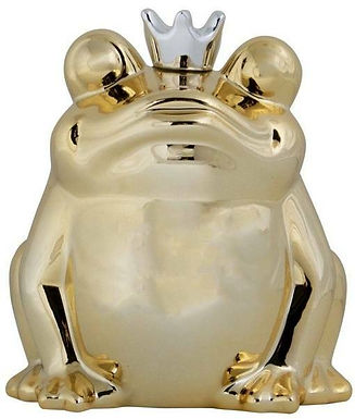 Spardose Froschkönig
