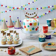 Hier finden Sie Dekorationen zum Geburtstag jeden Alters