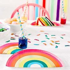 """Hier finden Sie Dekorations-Accessoires zum Thema """"Regenbogen"""""""