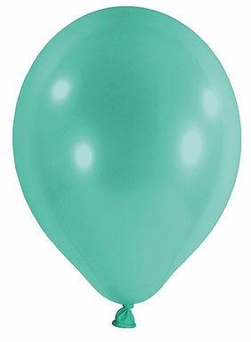 20 Latex-Ballons, Standardfarbe: türkis