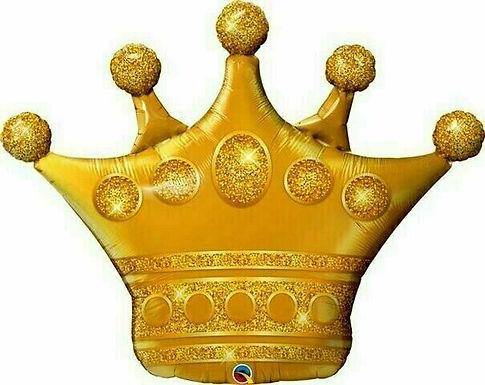 "XXL-Ballon ""Goldene Krone"""