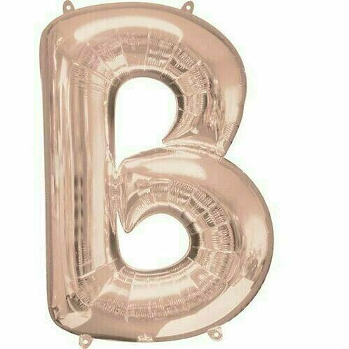 """Riesenbuchstabe """"B"""" - roségold"""