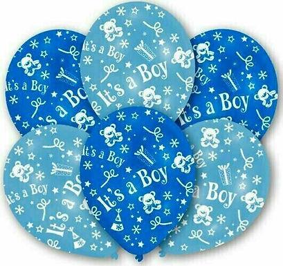 """Latex-Ballon """"It's a boy"""", Ø 27,5 cm"""