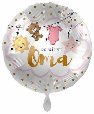 """Folienballon """"Du wirst Oma"""""""