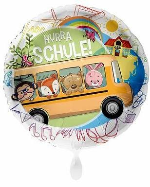 """Folienballon """"Hurra Schule"""""""