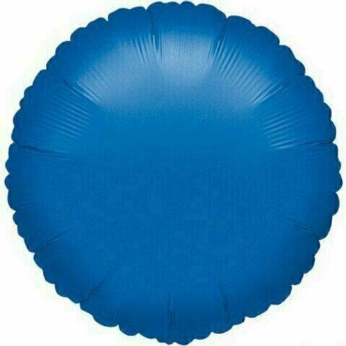 Rundballon, blau