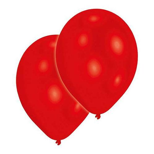 20 Latex-Ballons, Standardfarbe: rot/weiß/blau/gelb
