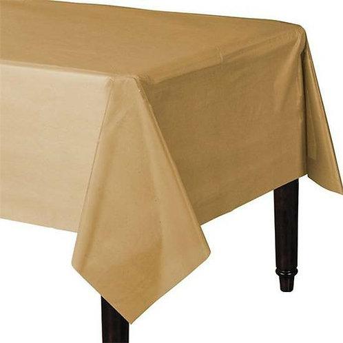 Tischdecke in gold