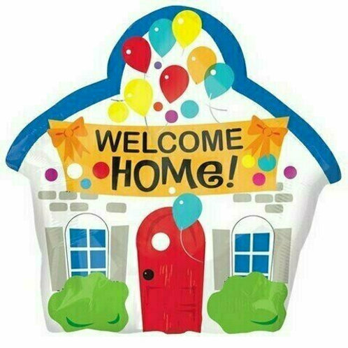Juniorshape-Ballon Welcome Home
