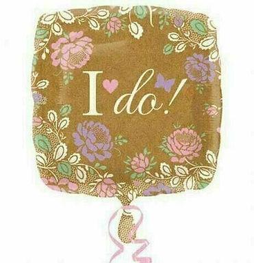 """Folien-Ballon """"I do"""""""
