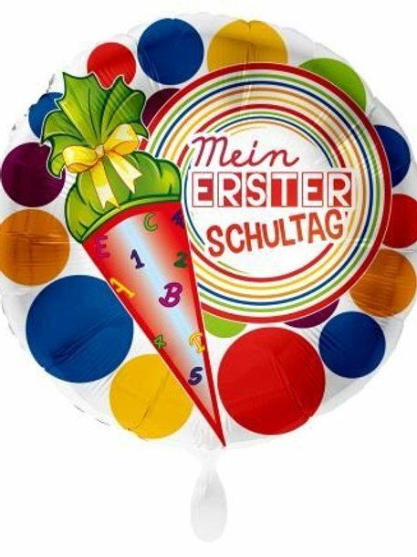 "Folienballon ""Mein erster Schultag"""