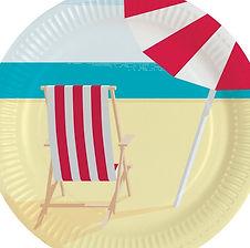 """hier finden Sie Dekorations-Accessoires zum Thema """"Beach Party / Strandparty"""""""