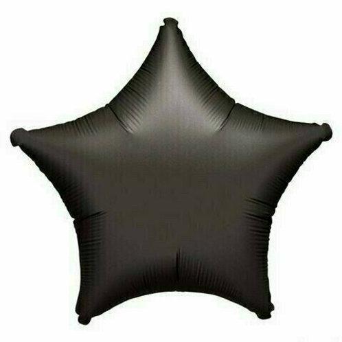 Sternballon / schwarz