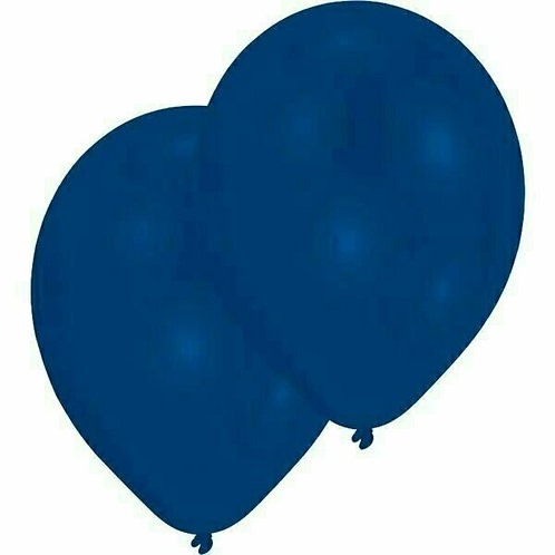 20 Latex-Ballons, Standardfarbe: dunkelblau