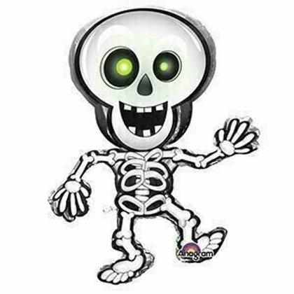 """XXL-Folienballon """"Tanzendes Skelett"""""""