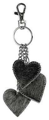 Schlüsselanhänger 3 Herzen