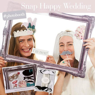 "Fotorequisitenset ""Happy Wedding"""