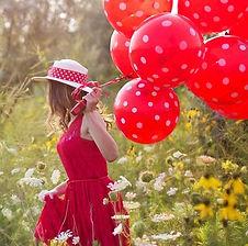 Hier erhalten Sie Latex-Motivballons mit vielen verschiedenen Design