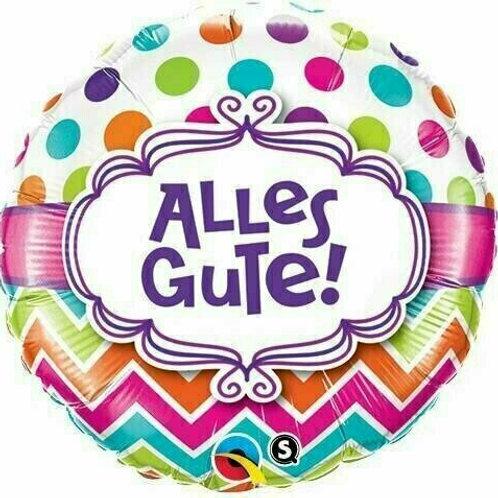 """Folienballon """"Alles Gute"""""""