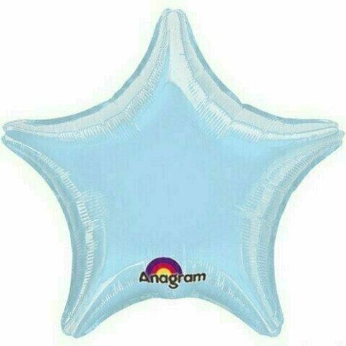 Sternballon, hellblau