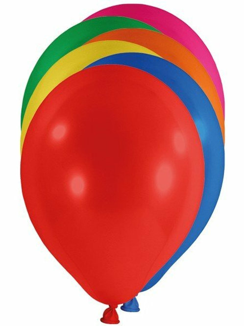 20 Latex-Ballons, Standardfarbe: kräftige Farben