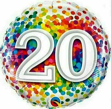 Geburtstag / 20. Geburtstag