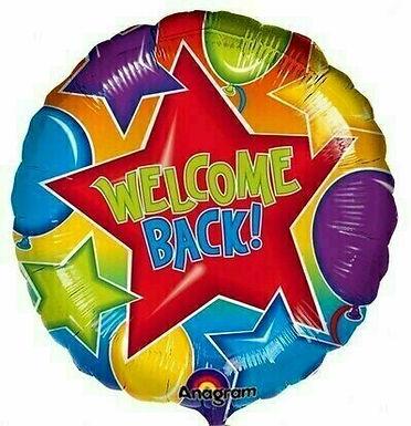Folienballon Welcome Back