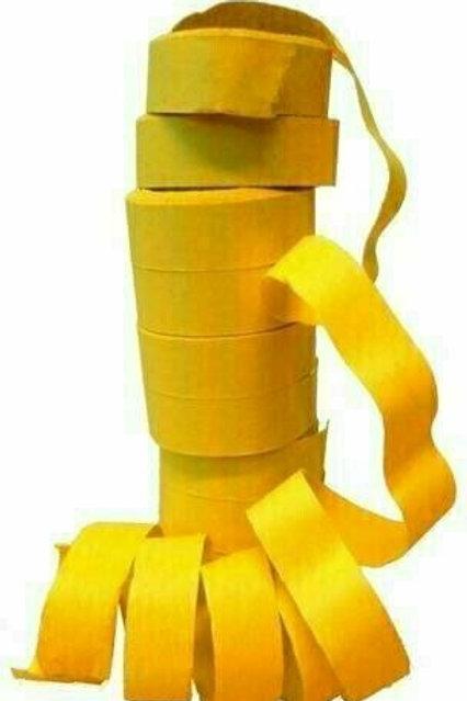 Maxi-Luftschlangen, gelb