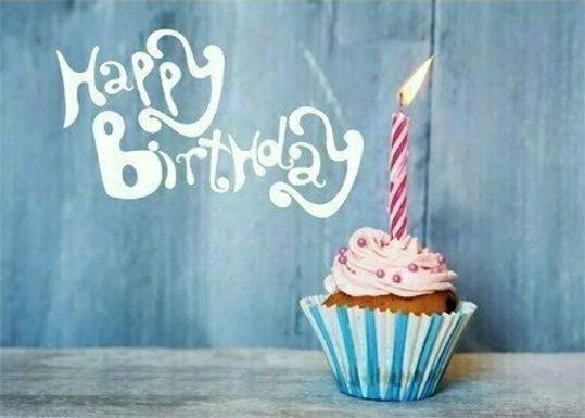 20er-Packung Weitflugkarten: Happy Birthday Torte
