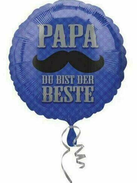 Folienballon: Papa, du bist der Beste!