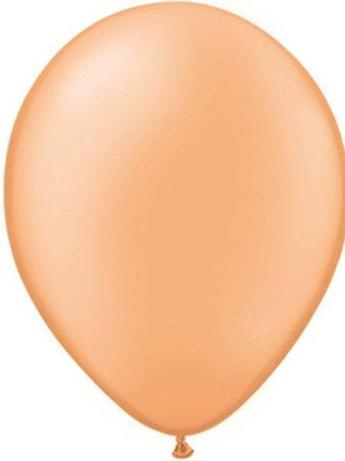 20 Latex-Ballons, Standardfarbe: apricot