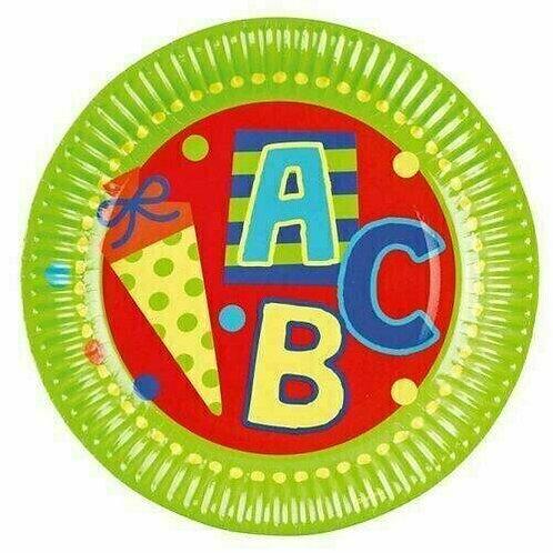 """Teller """"ABC"""" zum Schulanfang"""