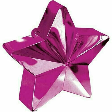 "Ballongewicht ""Stern"" in pink"