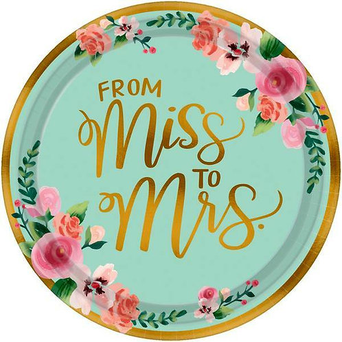 """Teller """"From Miss to Mrs"""""""