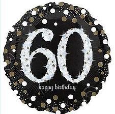 Dekoration zum 60. Geburtstag
