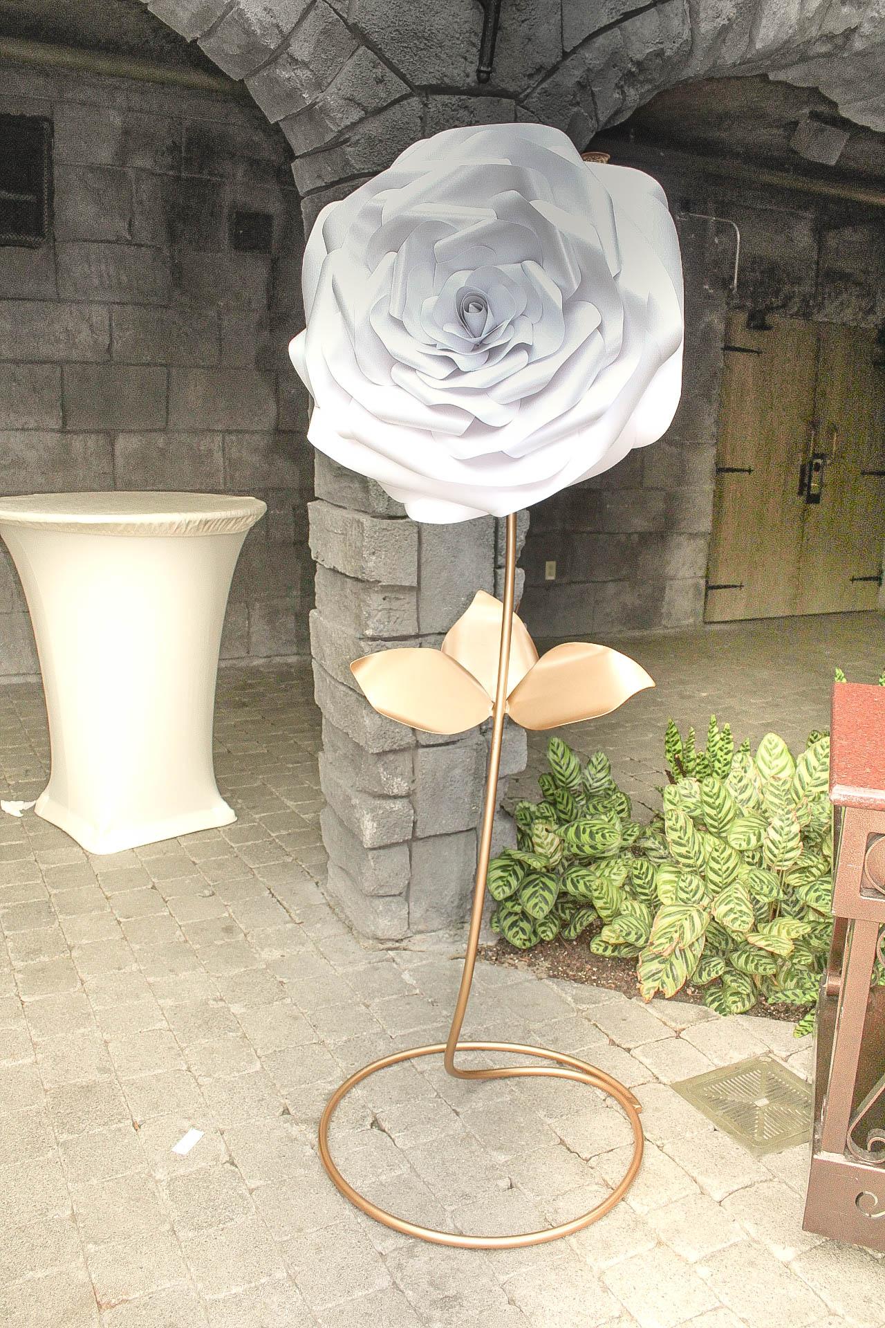 Standing Paper Flower Wedding