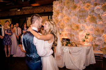 First Dance Backdrop
