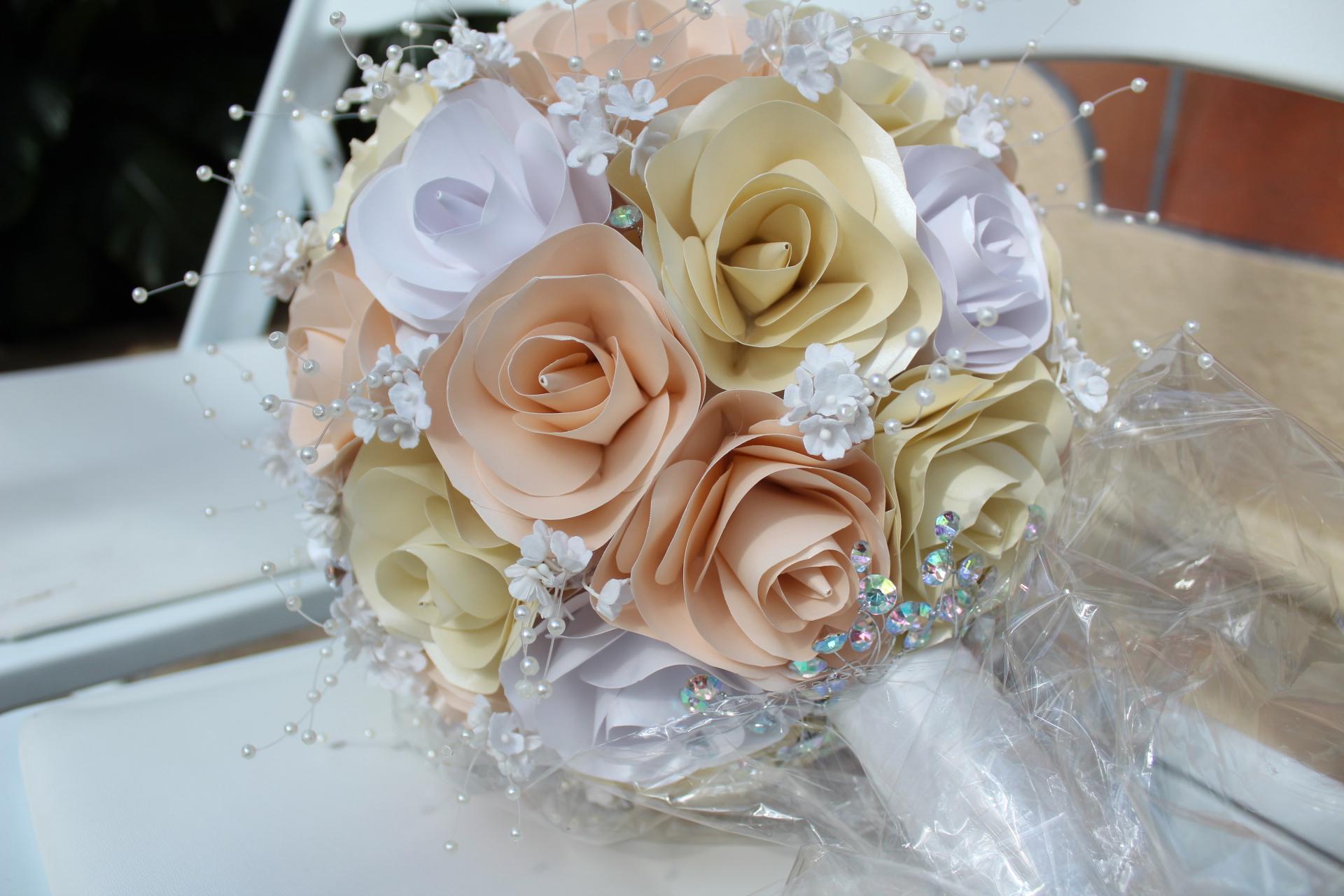 Paper Flower Boquet