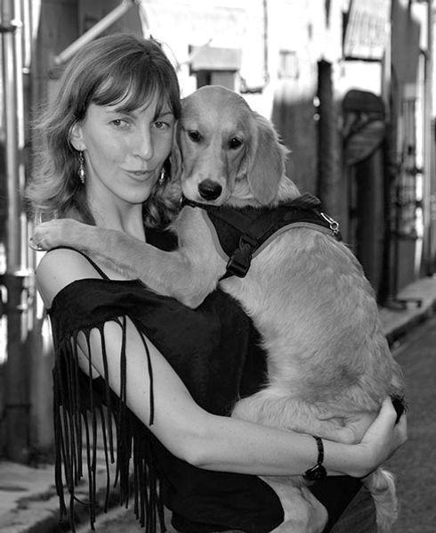 communication animale, Solene, chien, TOSCAnimale, comportement, comportementaliste, télépathie, communiquer avec les animaux, parler