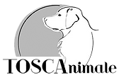 communication animale, logo Toscanimale