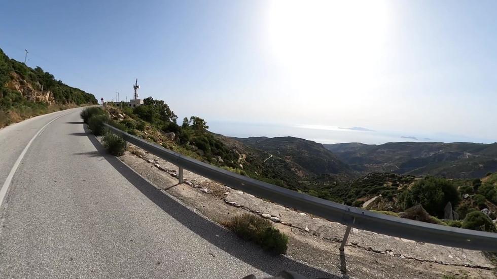 Climb from Koronos Cemetary