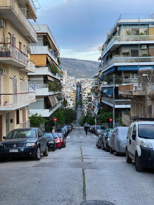 Hills of Athens