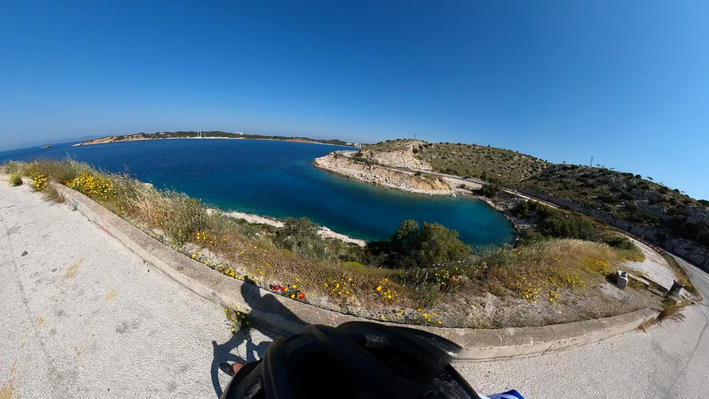 Road to Sounio